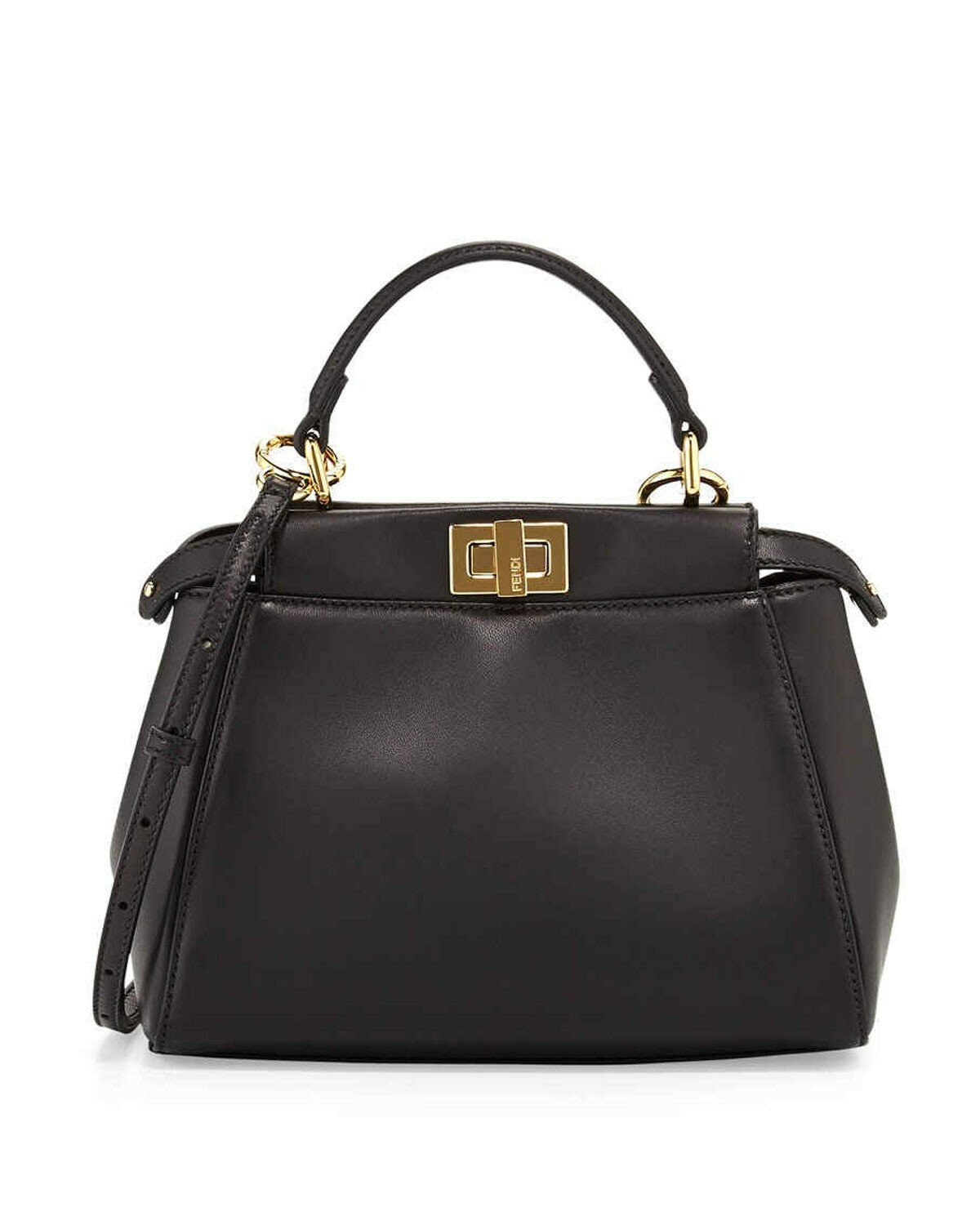Fendi peekaboo mini satchel bag black,accessories boston,discount sale boston